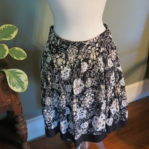 Rue21 Floral Skirt. Gathered and Flowy. Lined.